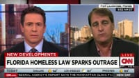 Fort Lauderdale Homeless Feeding Ordinance Mayor Liveshot CNN Remote Uplink Studio