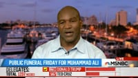 Evander Holyfield Remembering Boxing Legend Muhammad Ali Fort Lauderdale Satellite Uplink Studio